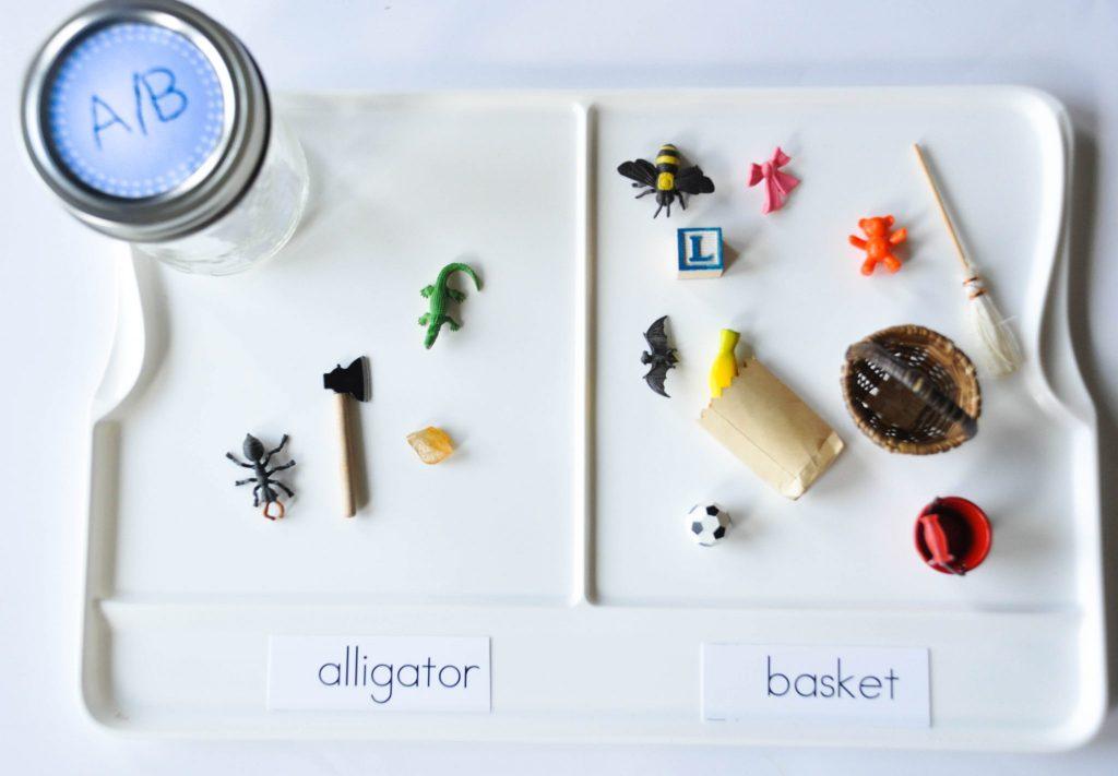 montessori alphabet