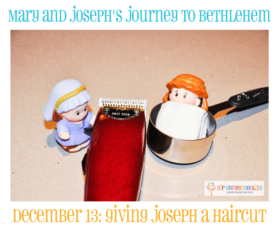 Elf on the Shelf Alternative- Journey to Bethlehem. Fun ideas for each day leading up to Christmas with pictures! December 13th