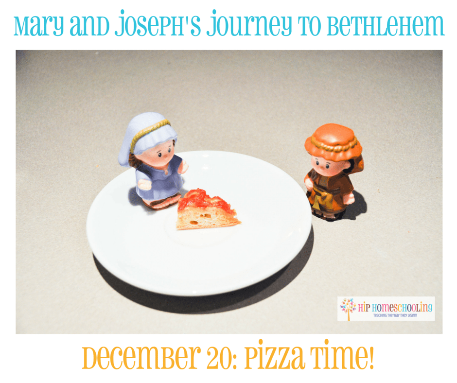 Elf on the Shelf Alternative- Journey to Bethlehem. Fun ideas for each day leading up to Christmas with pictures! December 20th