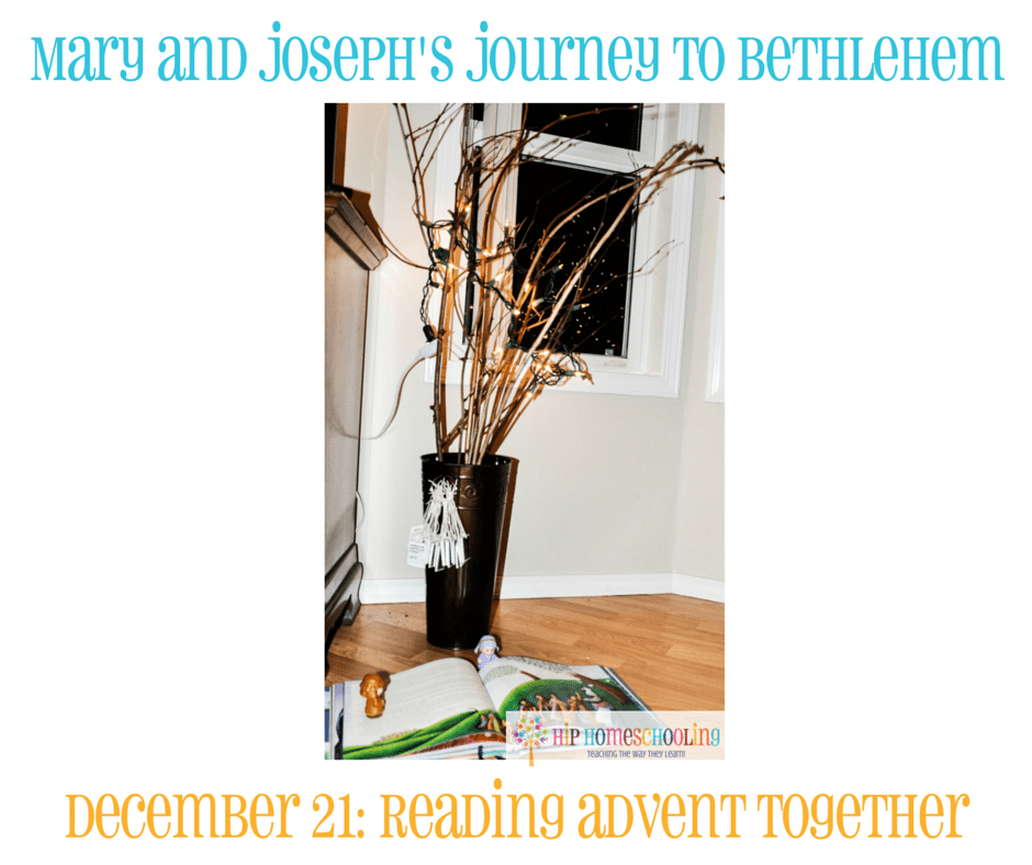 Elf on the Shelf Alternative- Journey to Bethlehem. Fun ideas for each day leading up to Christmas with pictures! December 21st