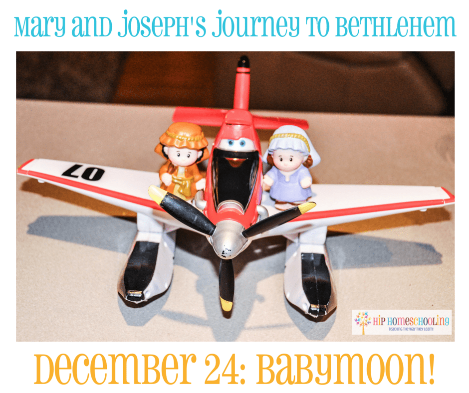 Elf on the Shelf Alternative- Journey to Bethlehem. Fun ideas for each day leading up to Christmas with pictures! December 24th
