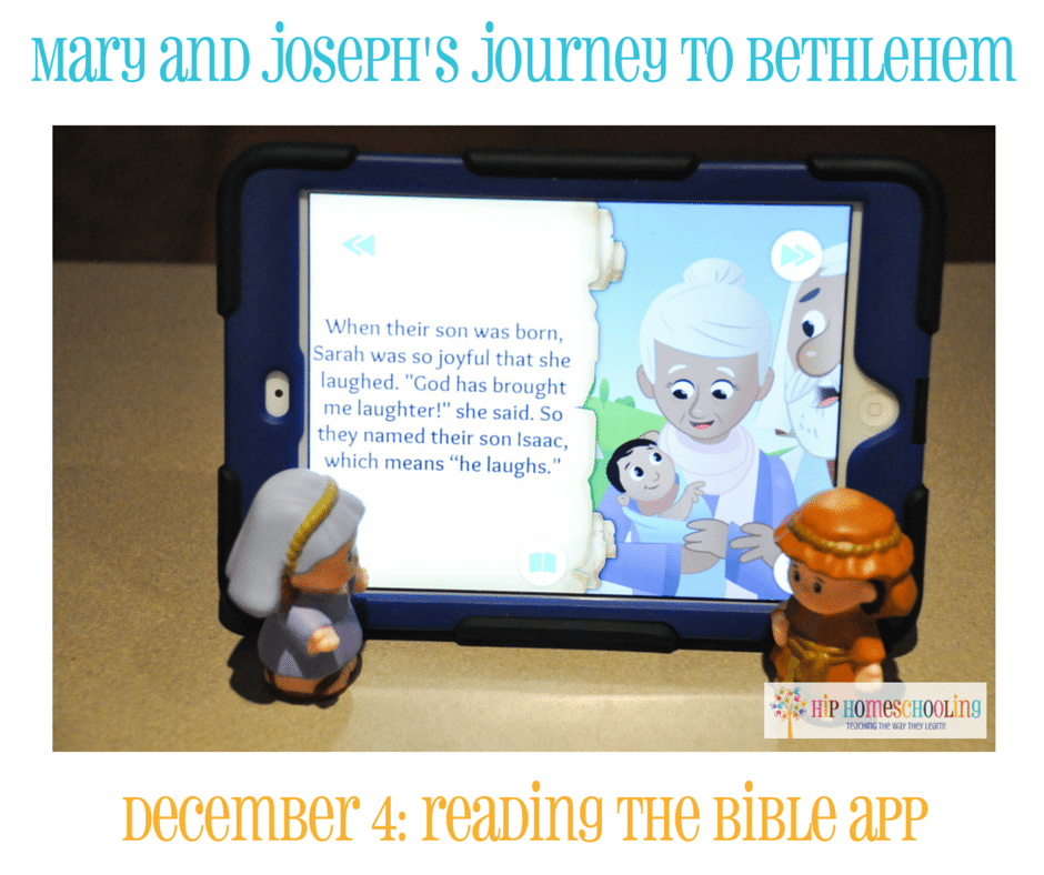 Elf on the Shelf Alternative- Journey to Bethlehem. Fun ideas for each day leading up to Christmas with pictures! December 4th