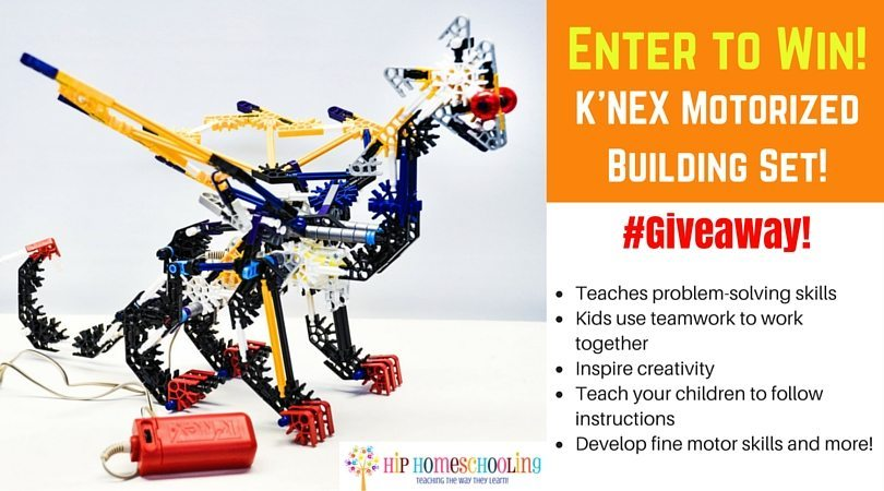 Motorized K'NEX Building Set