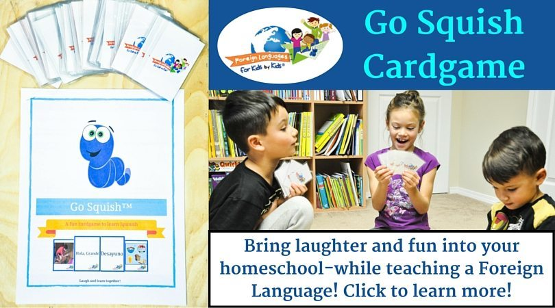 How to Play Go Squish: A Kid's Game to Learn Spanish Vocabulary