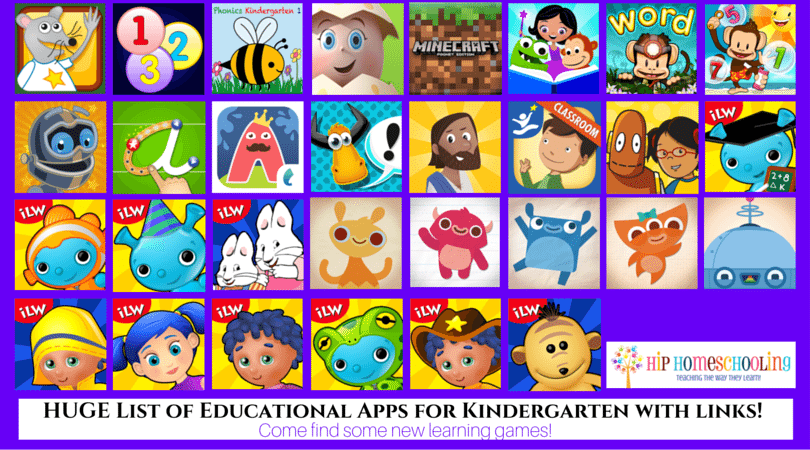 30 Educational Apps for Early Elementary