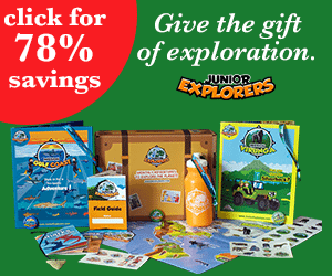 2015 Black Friday Deals with Junior Explorers