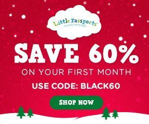 2015 Black Friday Deals with Little Passports