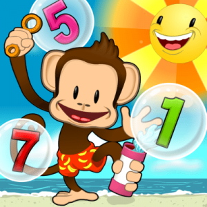 Best Kindergarten Apps: Monkey Math School Sunshine