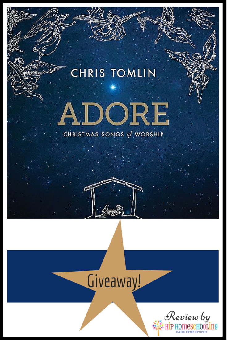 Adore: Christmas Songs of Worship by Chris Tomlin - review and giveaway