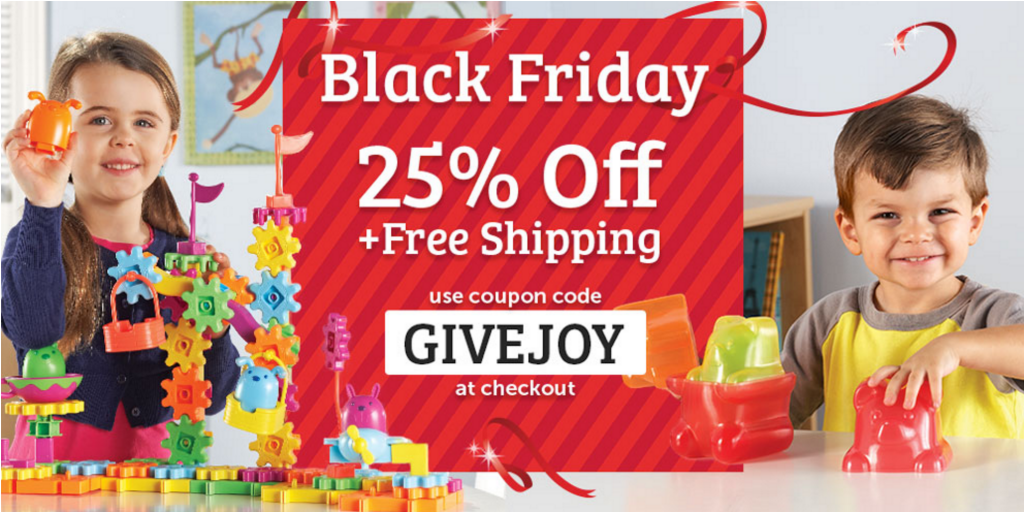 2015 Black Friday Deals with Learning Resources