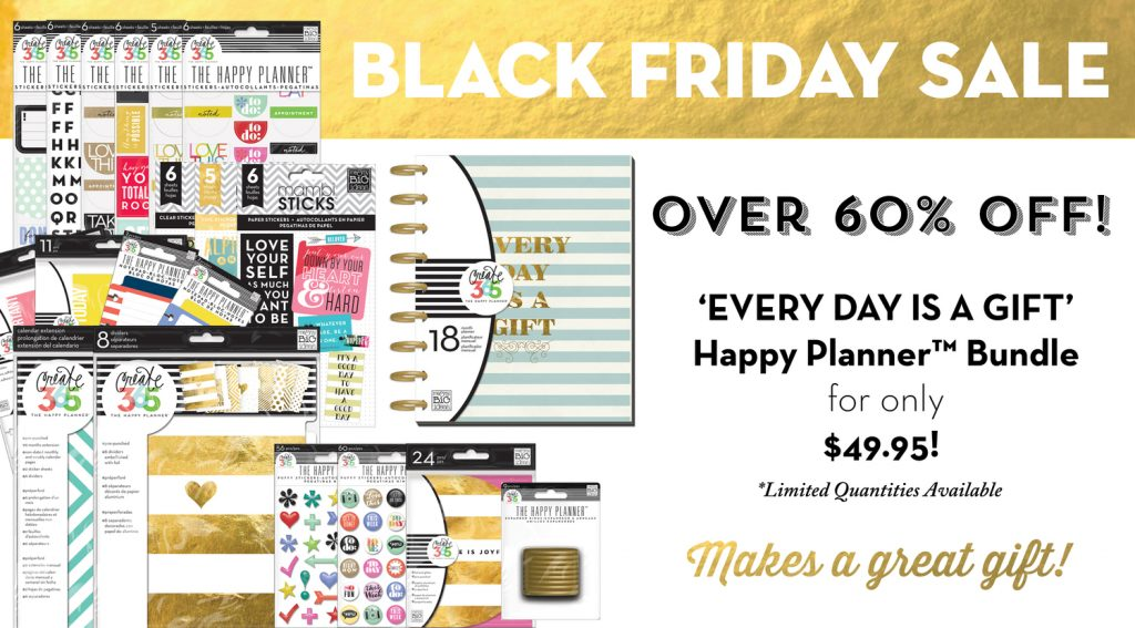 2015 Black Friday Deals: The Happy Planner