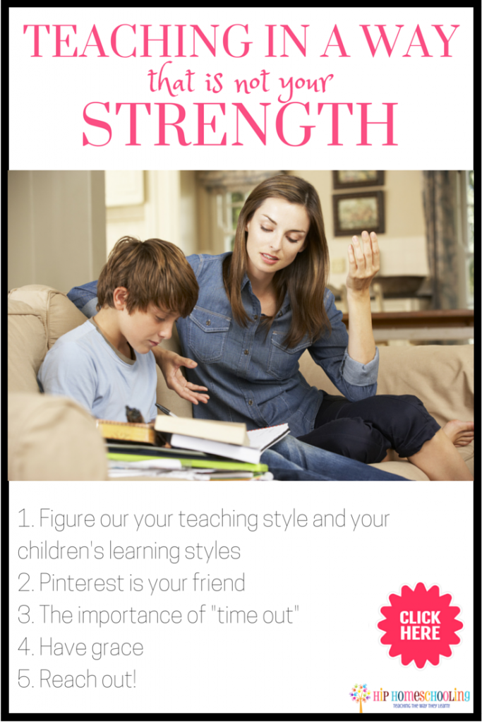 Teaching in a way that is not your strength: 5 steps to keep you from losing your mind!