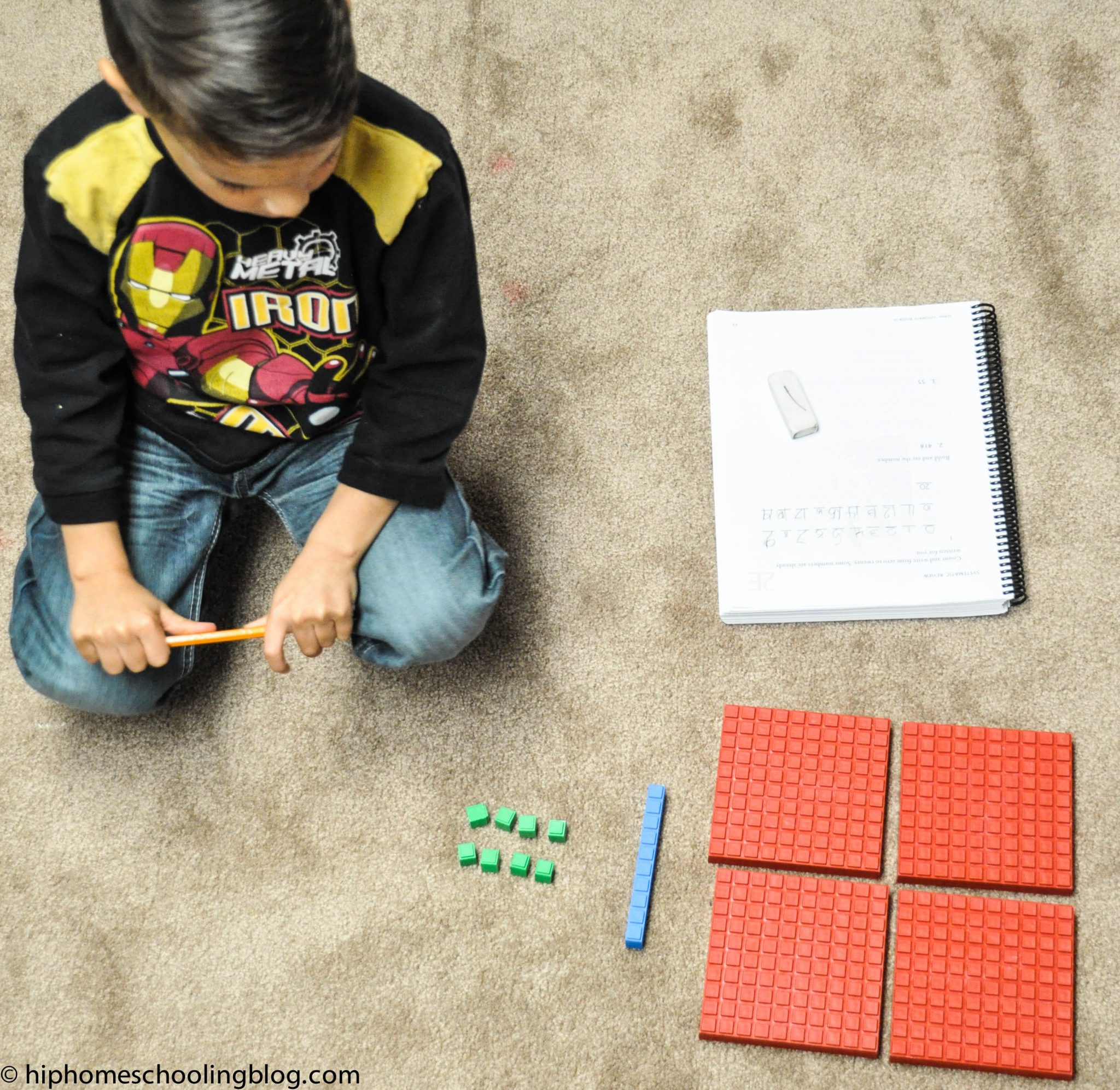 hands on math for ALL learning styles! Plus a HUGE giveaway