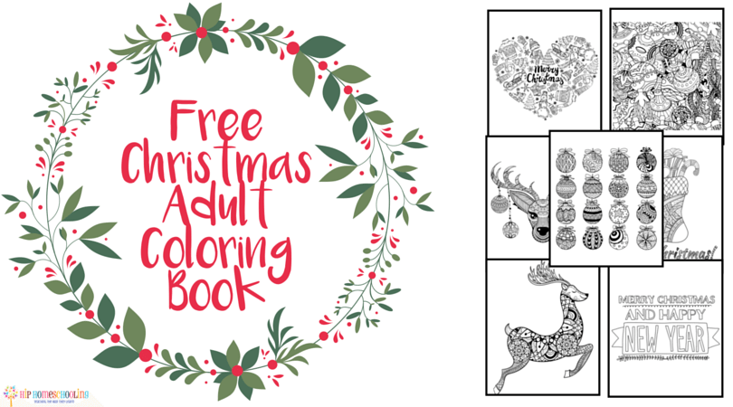 Reduce Holiday Stress with this Christmas Adult Coloring Book