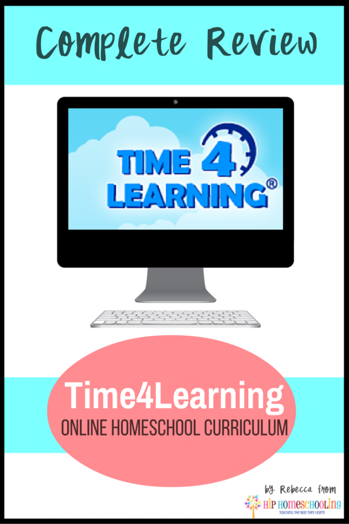 Time4Learning Reviews with Hip Homeschooling: Come Find out What Time4Learning is all about!