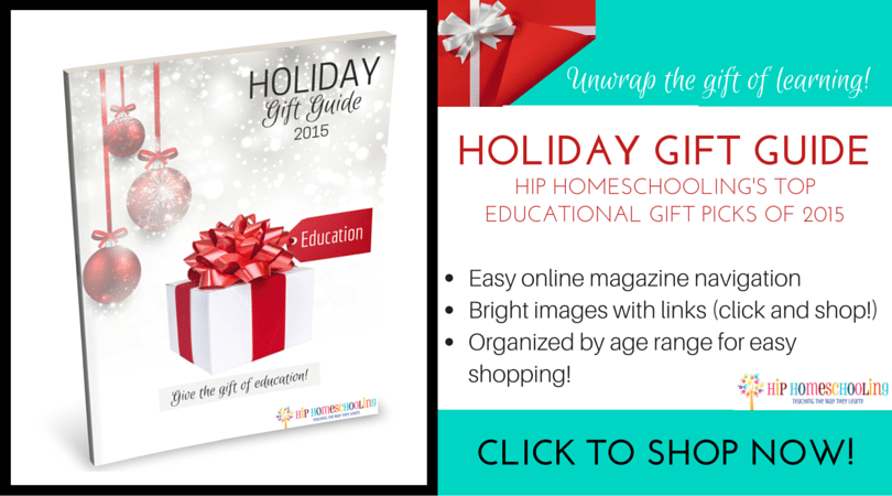 Top Christmas Gifts 2015 for Homeschoolers!