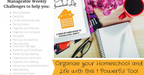 Organize your Homeschool and Life with this 1 Powerful Tool…