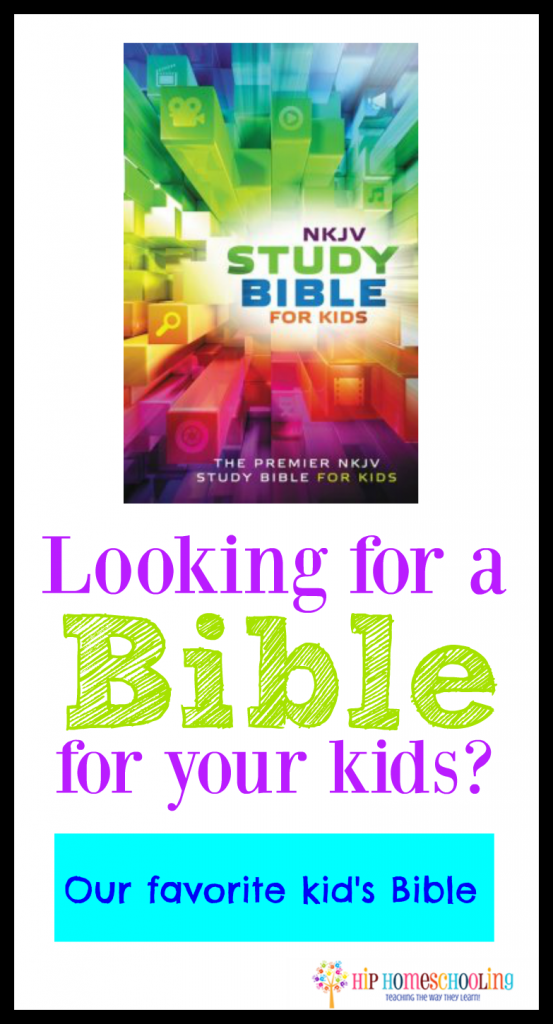 NKJV Kids Bible: Come read why this is our favorite kids bible!