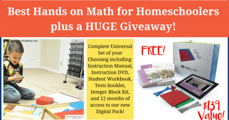 The best hands on math curriculum for homeschoolers