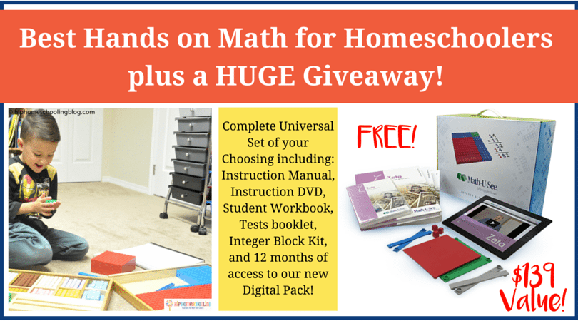 The best hands on math curriculum for homeschoolers