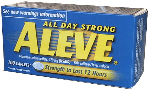 aleve pain free