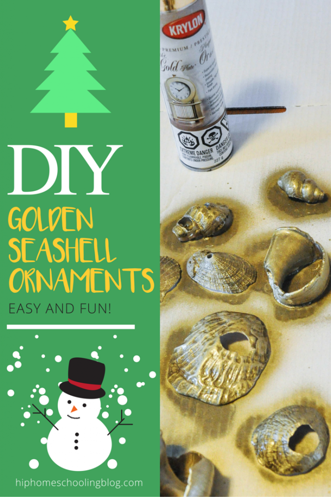 Simple homemade Christmas ornaments: Whether you have clay or seashells, you can create something memorable and beautiful for your tree for years to come!