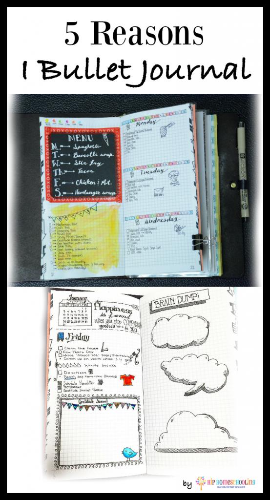 5 reasons I bullet journal