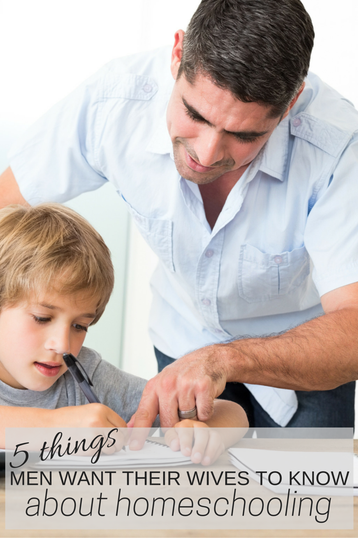 5 things husbands wish their wives knew about homeschooling: homeschool tips | homeschool encouragement | new to homeschooling | homeschooling | homeschool dad | homeschooling blog | homeschooling blogs
