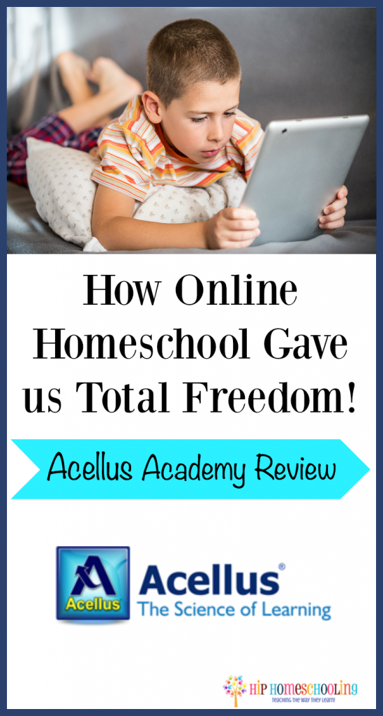 Acellus Academy Review How online Homeschooling Gave us total freedom!