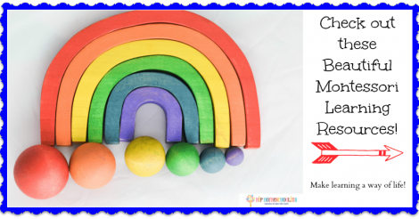Set up your Montessori at Home with these Handmade Learning Resources!