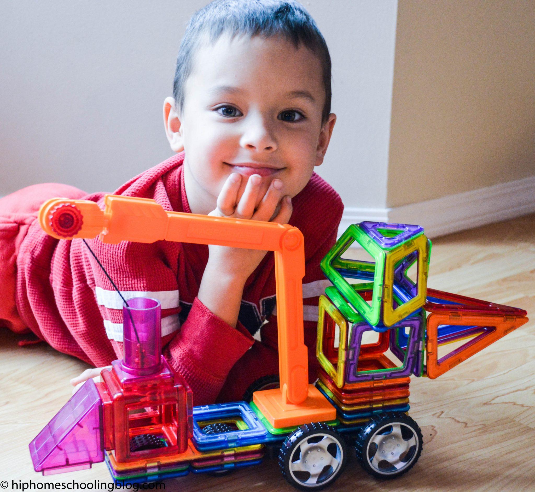 Toys that Teach: Magformers