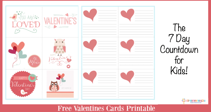 The Seven Day Countdown: A Fun Valentines Day Activity!
