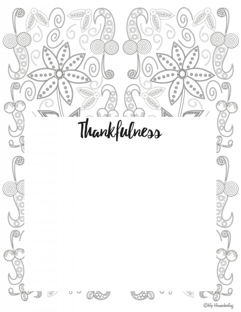 Gratitude Journal Template 4