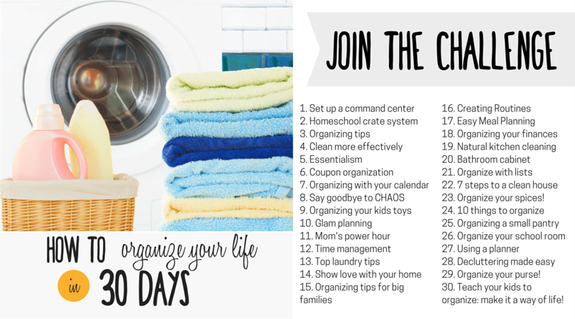 How to Organize Your Life in 30 Days