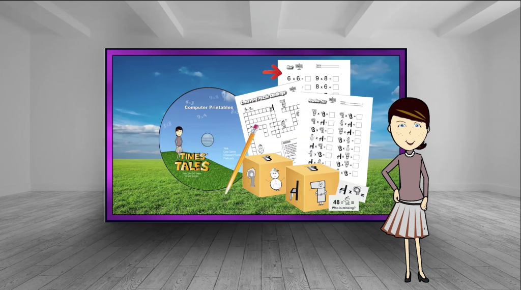 How to teach multiplication with times tales