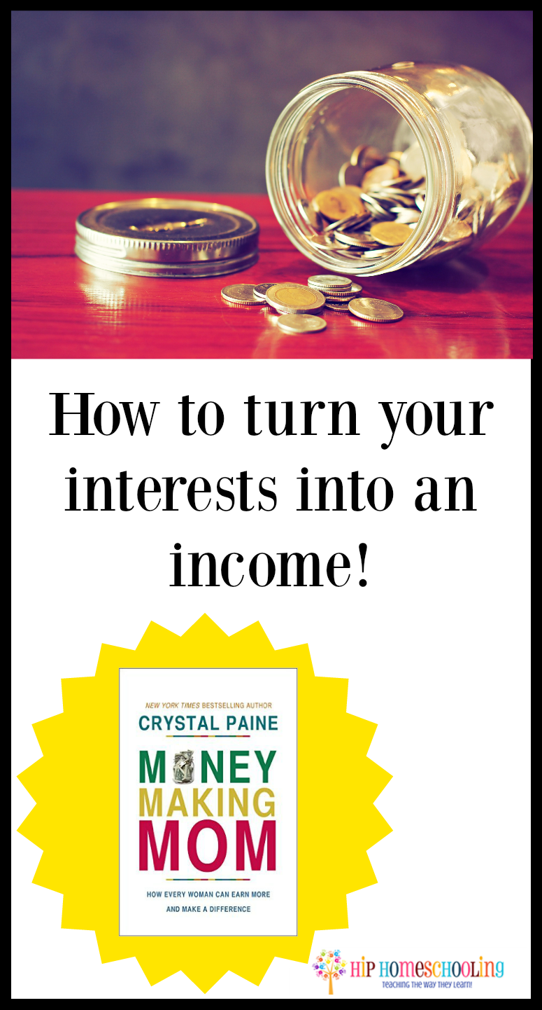 how to turn your interests into an income and gain financial freedom today!