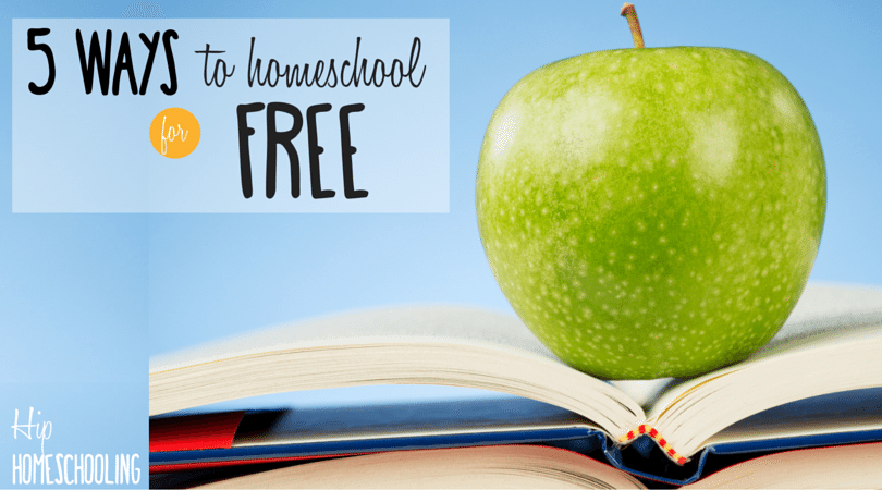 5 Ways to Homeschool for Free