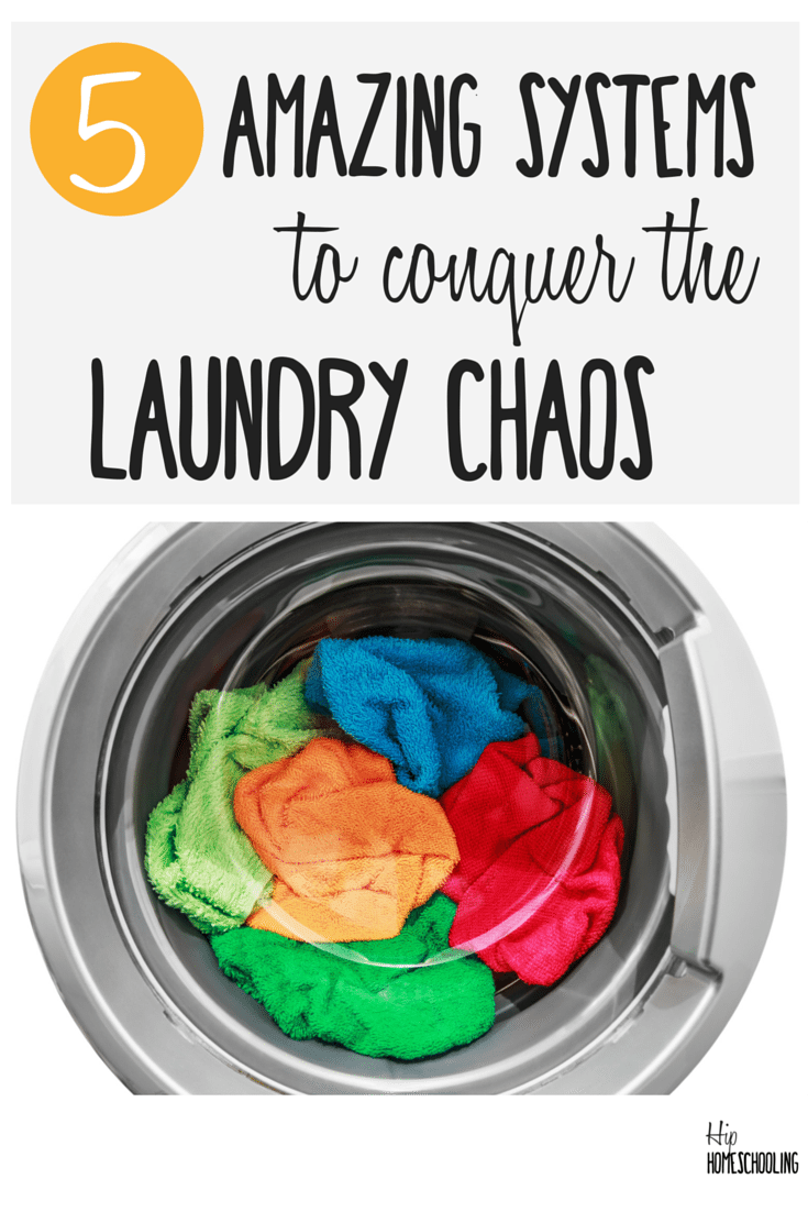 5 tips for doing laundry and awesome systems to keep you going!