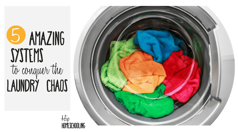 5 Amazing Systems to Help You Conquer the Laundry Chaos for Good