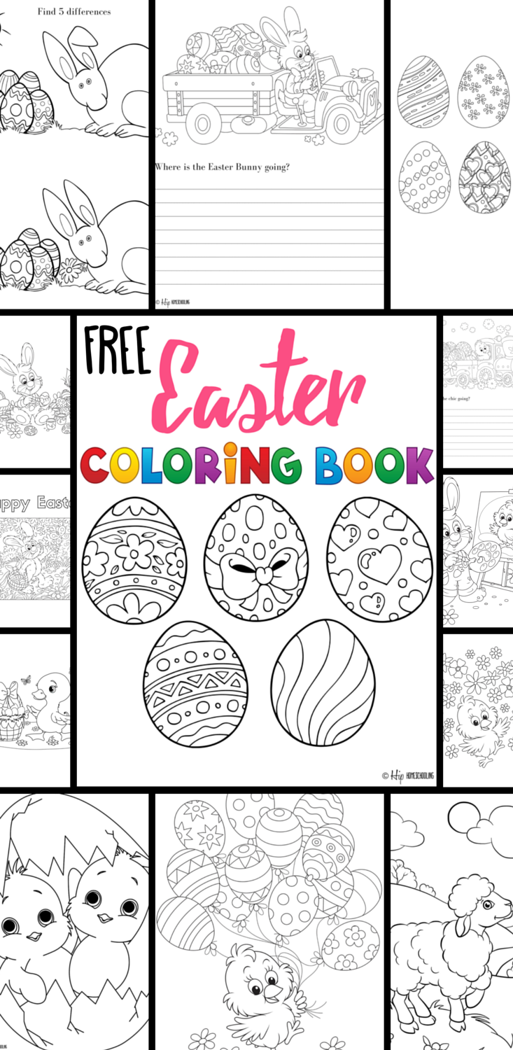 Free Easter Coloring Pages Your Kids Will Love