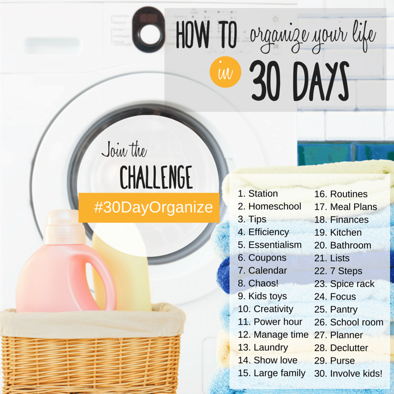 How to organize your life in 30 days- plan your life with us!