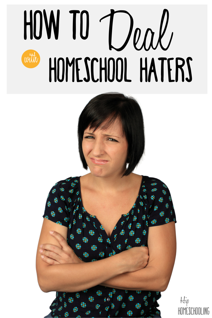How to deal with homeschool haters - do you have some of those in your life? Check this out! Homeschool judgement | Homeschooling encouragement