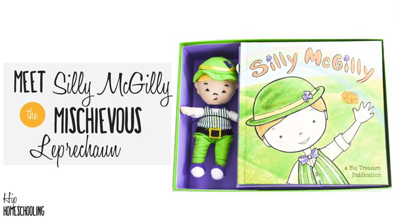 Meet Silly McGilly: the Mischievous Little Leprechaun!