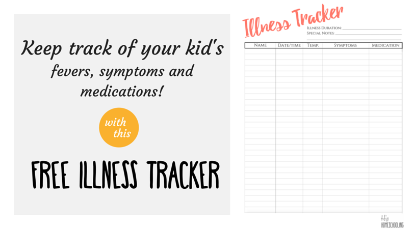 How I track my Children's Sickness with my Bullet Journal