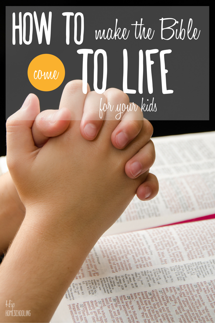 how to make the bible come to life for your kids with this amazing devotions for kids!