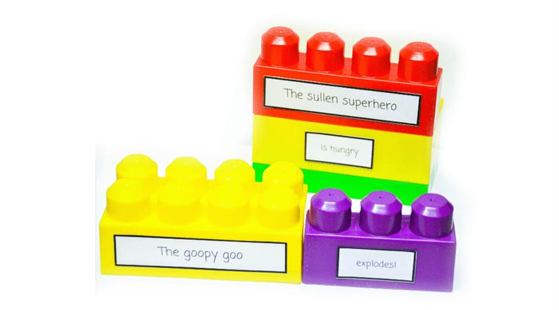 lego creative writing prompts