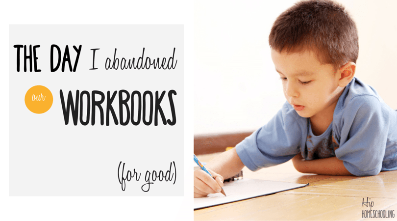 The Day I Abandoned My Workbooks… For Good