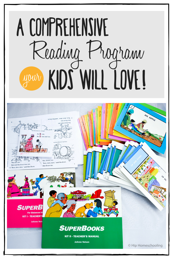 Teaching Kids to Read the Easy Way with Superbooks