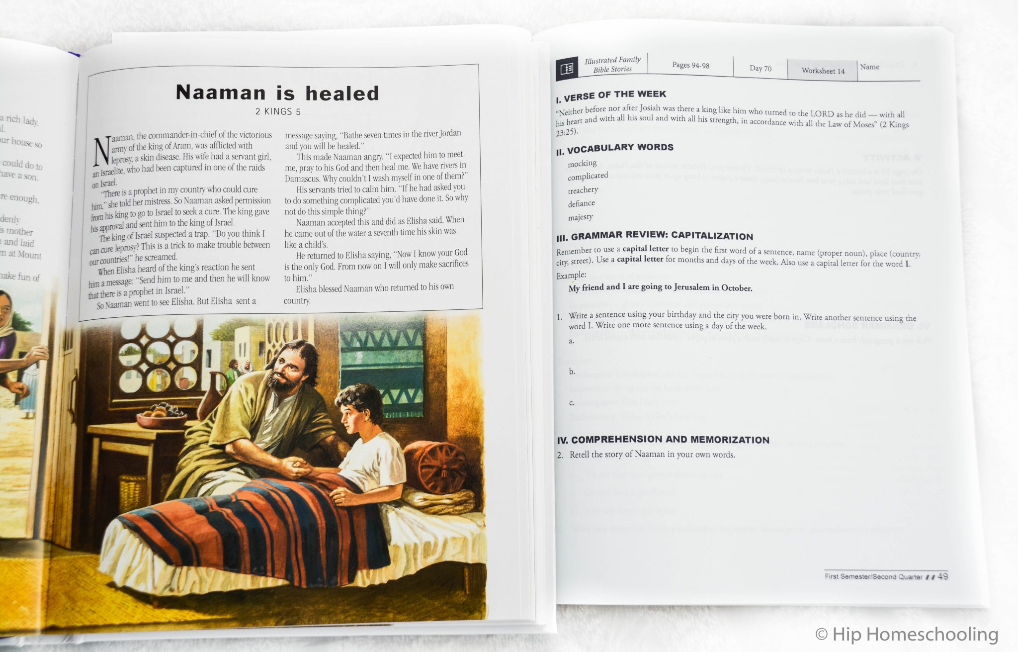 homeschool bible curriculum review, come learn grammar using scripture with your kids! elementary bible curriculum | homeschool bible | homeschool bible lessons | grade 3 bible | grade 4 bible | curriculum review | bible curriculum review | master books | grade 5 bible | grade 6 bible
