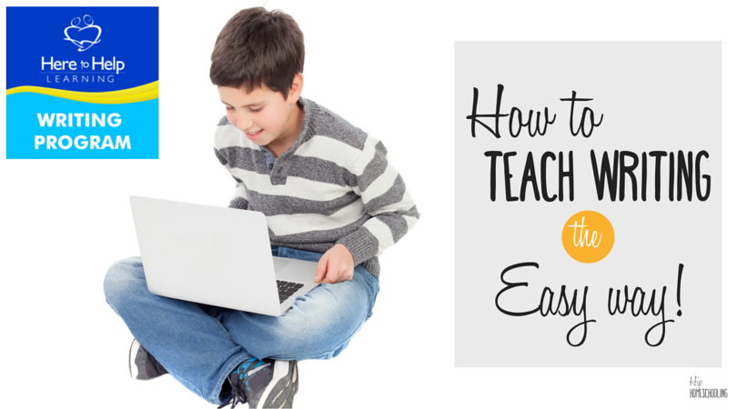 How to Teach Writing in Your Homeschool
